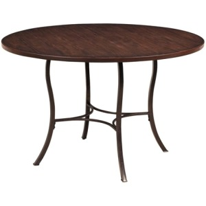 Cameron Wood and Metal Dining Table