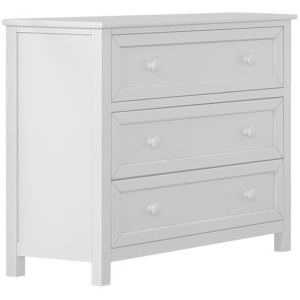 Schoolhouse 4.0 Three Drawer Chest - White