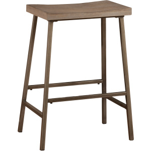 KENNON BACKLESS NON-SWIVEL COUNTER STOOL
