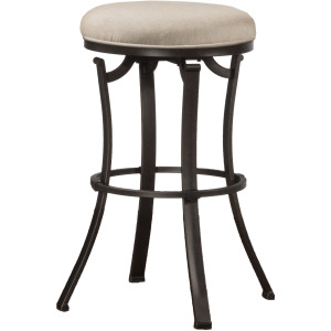 Bryce Backless Indoor/Outdoor Swivel Counter Height Stool