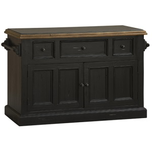 Tuscan Retreat Granite Top Kitchen Island