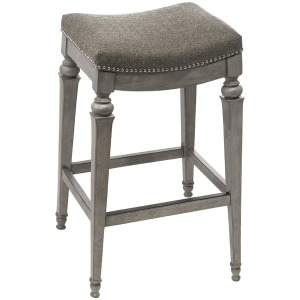 Vetrina Backless Bar Stool - Gray