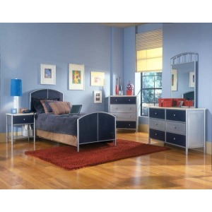 Universal 5pc Mesh Full Bedroom Suite