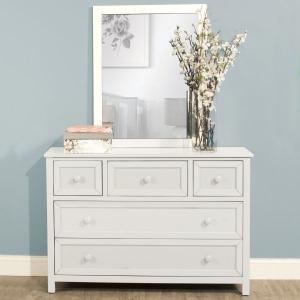 Schoolhouse 4.0 Dresser & Mirror - White