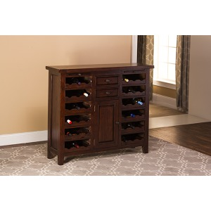 Tuscan Retreat Wine Console