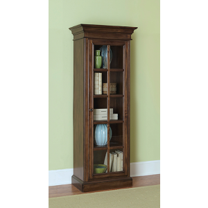 Pine Island Small Library Cabinet - Dark Pine