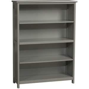 Schoolhouse 4.0 Tall Vertical Bookcase - Gray
