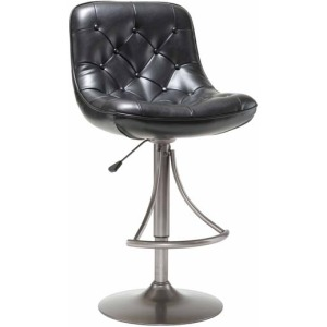 Aspen Adjustable Barstool Black