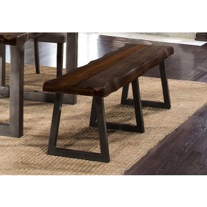 Emerson Bench  - Gray Sheesham