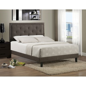 Becker Queen Bed - Black Brown