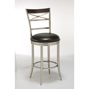 Kilgore Dull Nickel Barstool