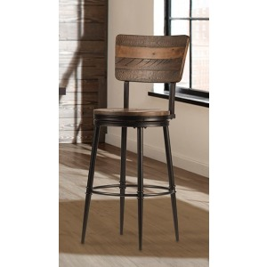 Jennings Swivel Bbar Stool