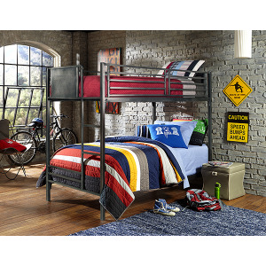 Urban Quarters Twin/Twin Bunk Bed