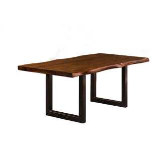 Emerson Rectangle Dining Table - Natural Sheesham