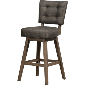 Lanning Swivel Counter Stool - Chocolate