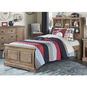 Oxford Twin Bookcase Bed