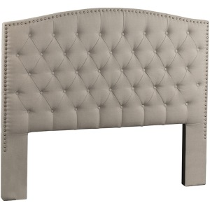Lila Queen Headboard - Dove Gray