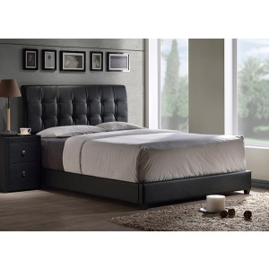Lusso Queen Bed - Black