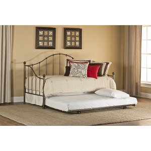 Amy Daybed With Frame and Roll Out Trundle