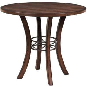 Cameron Round Wood Counter Table