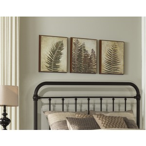 Kirkland Queen/Full Headboard - Dark Bronze