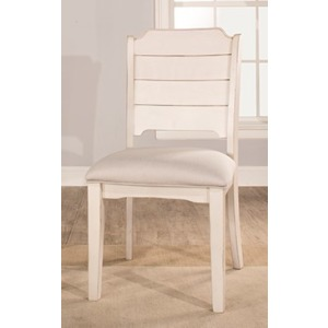 Clarion Side Dining Chair - Sea White