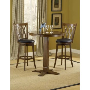 Dynamic Designs 3pc Pub Set w/ Mansfield Stools