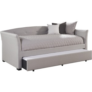 Morgan Daybed w/Trundle - Dove Gray