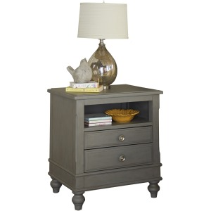 Lake House Nightstand - Stone