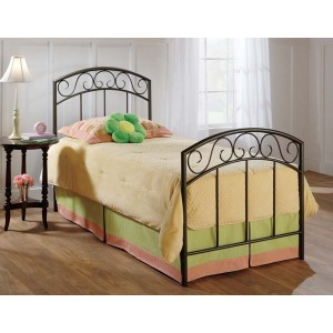 Wendell Twin Bed Set Copper Pebble