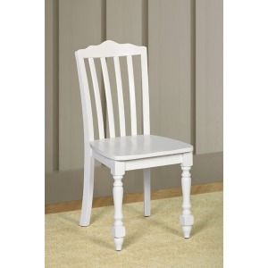 Lauren White Desk Chair