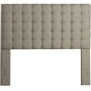 Bergen Queen Headboard Only - Natural Herringbone