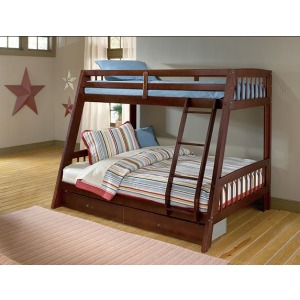 Rockdale Bunk Bed - Cherry