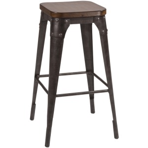 Morris Backless Non-Swivel Counter Stool
