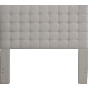 Bergen Queen Headboard Only - Dove Gray