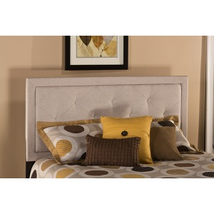 Becker King Headboard - Cream Fabric