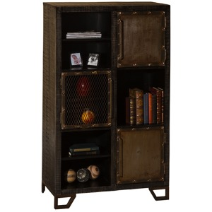 BRIDGEWATER CURIO with THREE DOOR / THREE SHELF DISPLAY