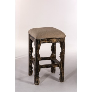Carrara Backless Counter Stool - Blackwash