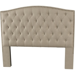 Lila King/California King Headboard - Standstone Linen