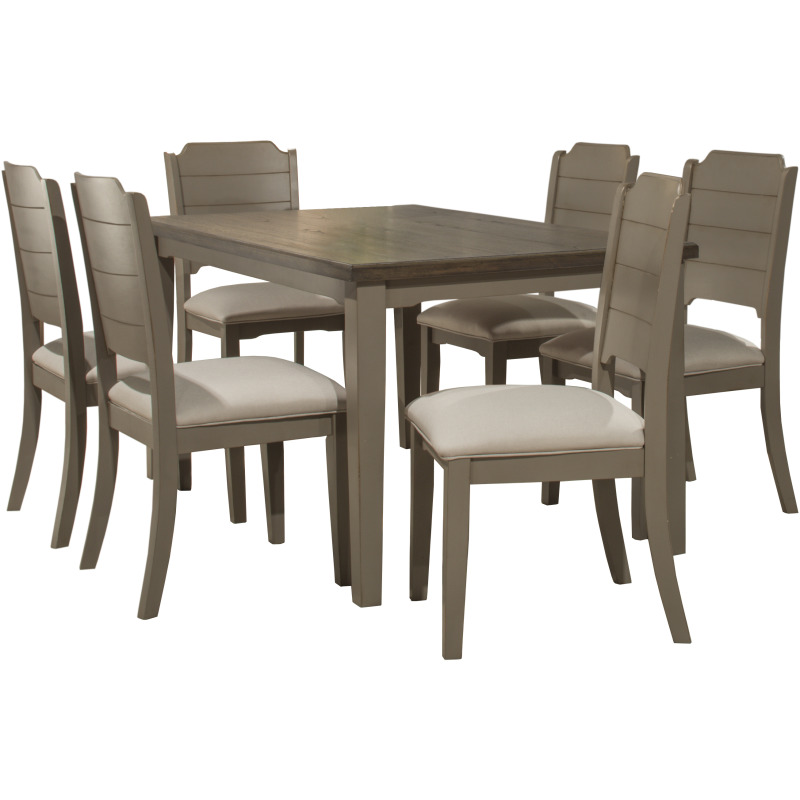 Awe Inspiring Clarion 7 Piece Rectangle Dining Set With Dining Chairs By Pdpeps Interior Chair Design Pdpepsorg