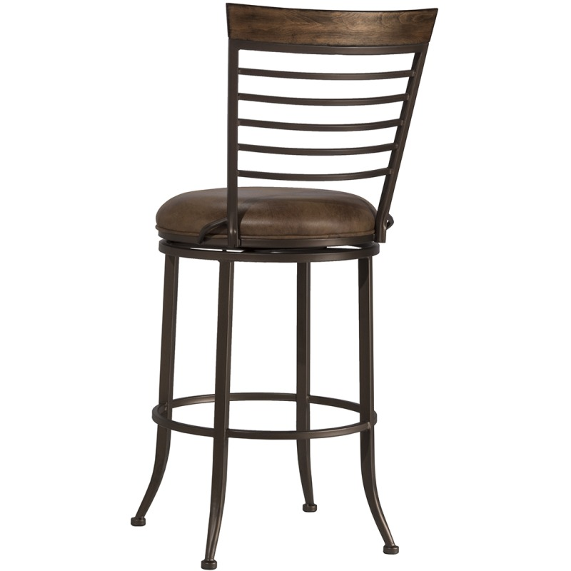 Terrell Commercial Grade Swivel Bar Stool