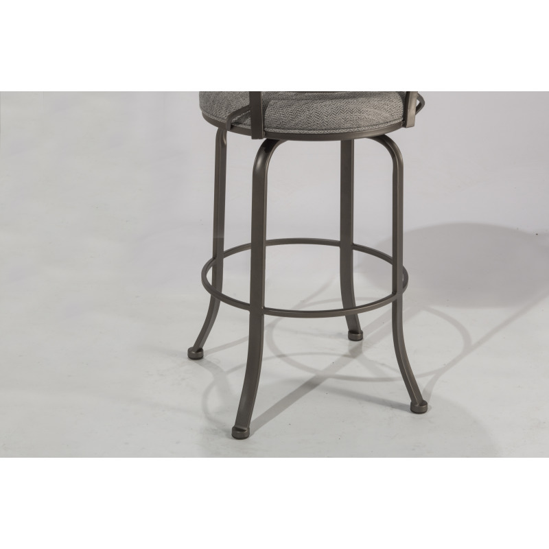 Pleasant Lynx Commercial Grade Swivel Bar Stool By Hillsdale Evergreenethics Interior Chair Design Evergreenethicsorg