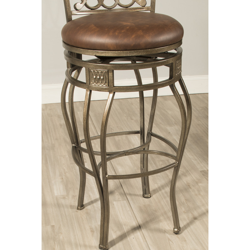 Incredible Montello Swivel Counter Stool By Hillsdale Furniture Evergreenethics Interior Chair Design Evergreenethicsorg