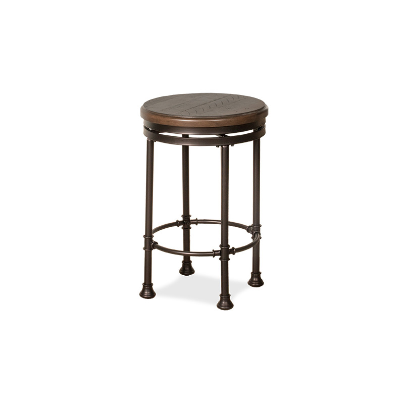 Swell Casselberry Backless Round Swivel Counter Stool By Hillsdale Caraccident5 Cool Chair Designs And Ideas Caraccident5Info