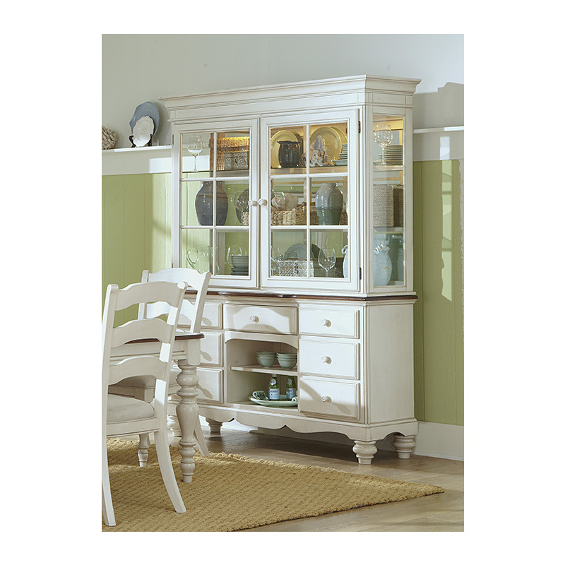 Pine Island Buffet And Hutch By Hillsdale Furniture