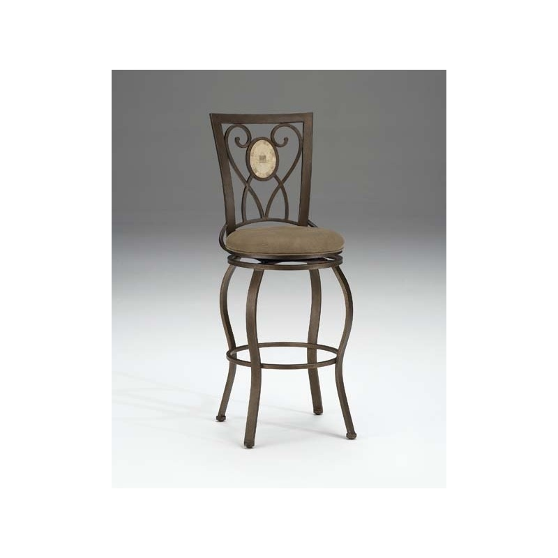Strange Brookside Oval Back Swivel Counter Stool By Hillsdale Evergreenethics Interior Chair Design Evergreenethicsorg