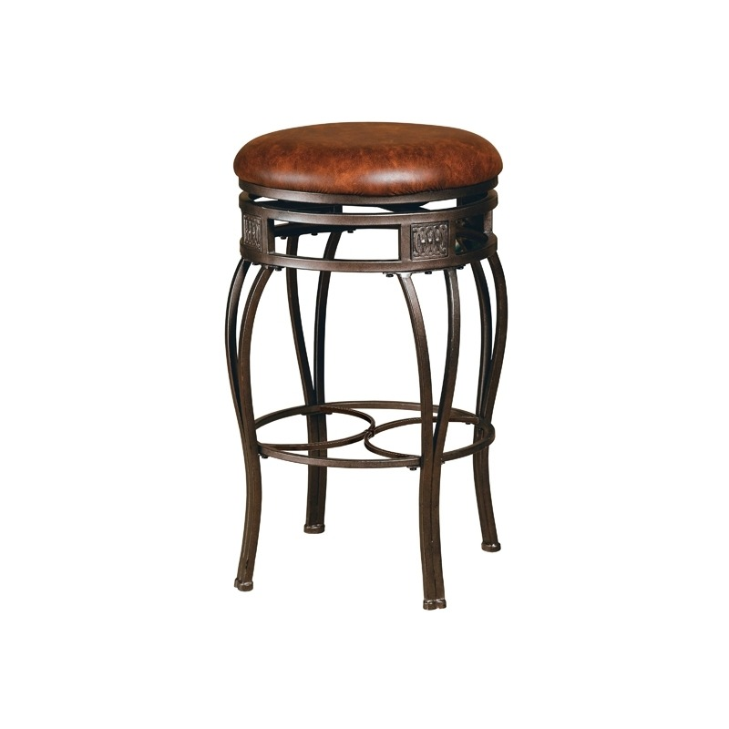 Astonishing Montello Backless Swivel Counter Stool By Hillsdale Caraccident5 Cool Chair Designs And Ideas Caraccident5Info