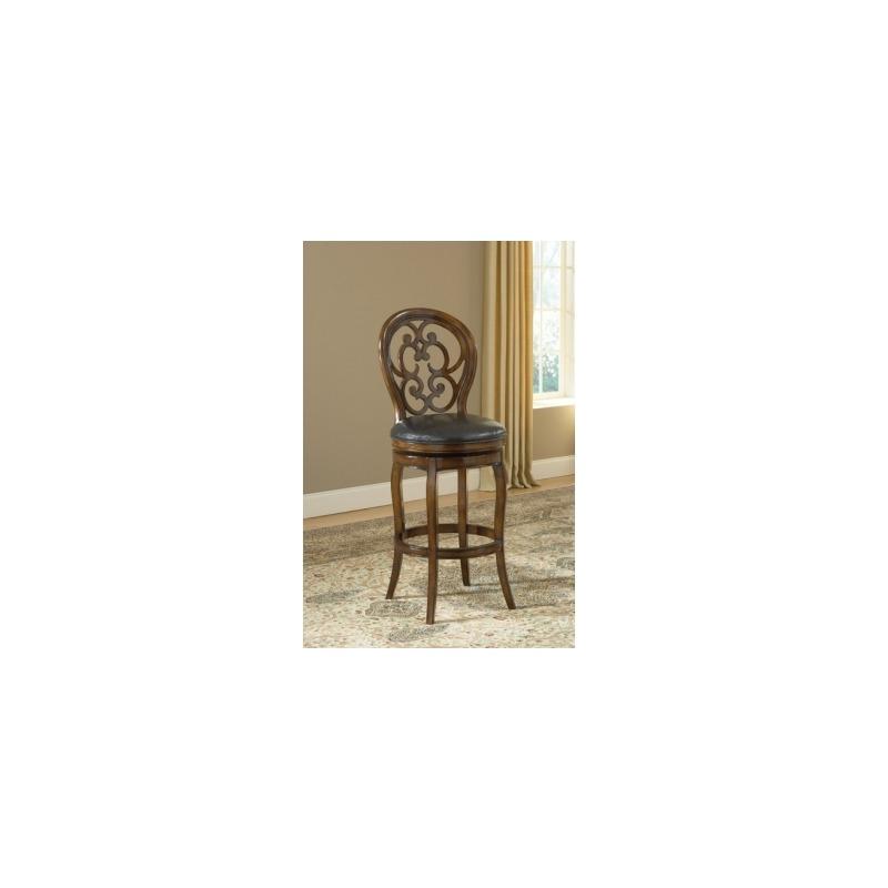 Awesome Alexandra Swivel Bar Stool By Hillsdale Furniture 63885 Short Links Chair Design For Home Short Linksinfo