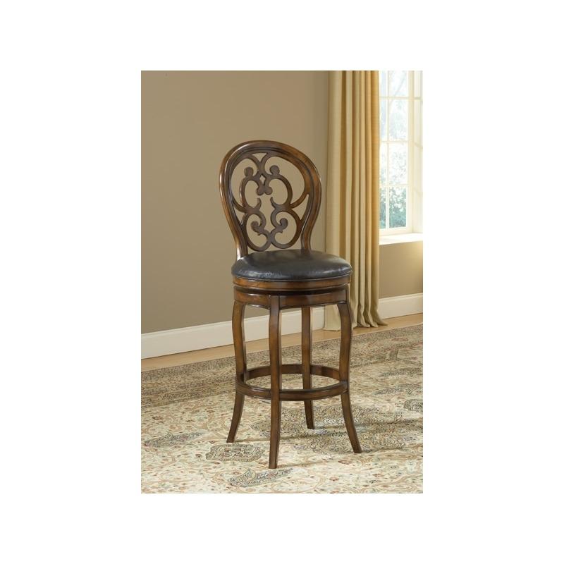 Phenomenal Alexandra Swivel Bar Stool By Hillsdale Furniture 63885 Short Links Chair Design For Home Short Linksinfo