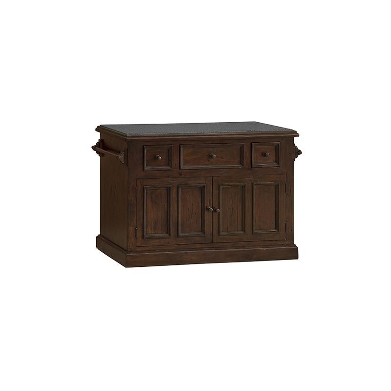 Tuscan Retreat Granite Top Kitchen Island By Hillsdale Furniture 4793 916w Horton S Furniture Mattresses
